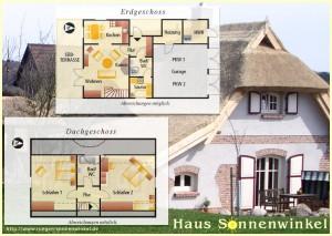 Ferienhaus Sonnenwinkel mit Sauna und Kamin im Ostseebad Sellin/Altensien auf Rügen
